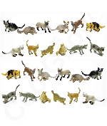 Fun Central AZ915 2 Inch Toy Cats - Assorted