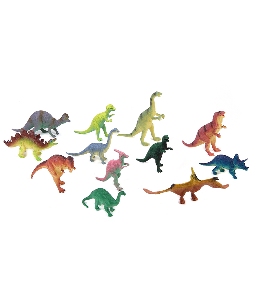 5 to 7 Inch Dinosaurs - Assorted 12ct