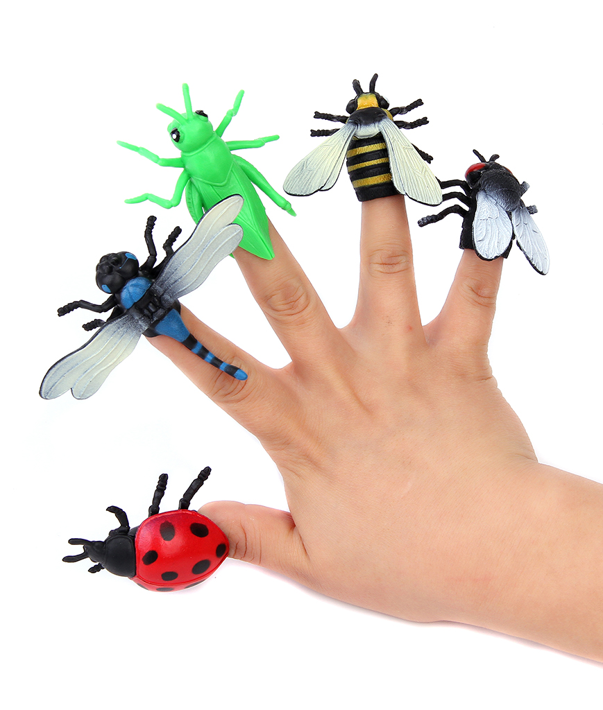 Insect Finger Puppets - Assorted