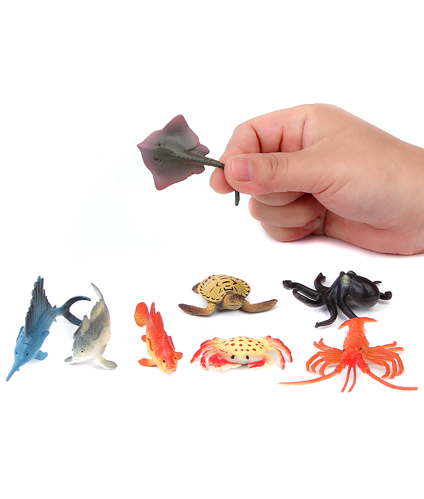 4 Inch Ocean Sea Animals Action Figure - Assorted