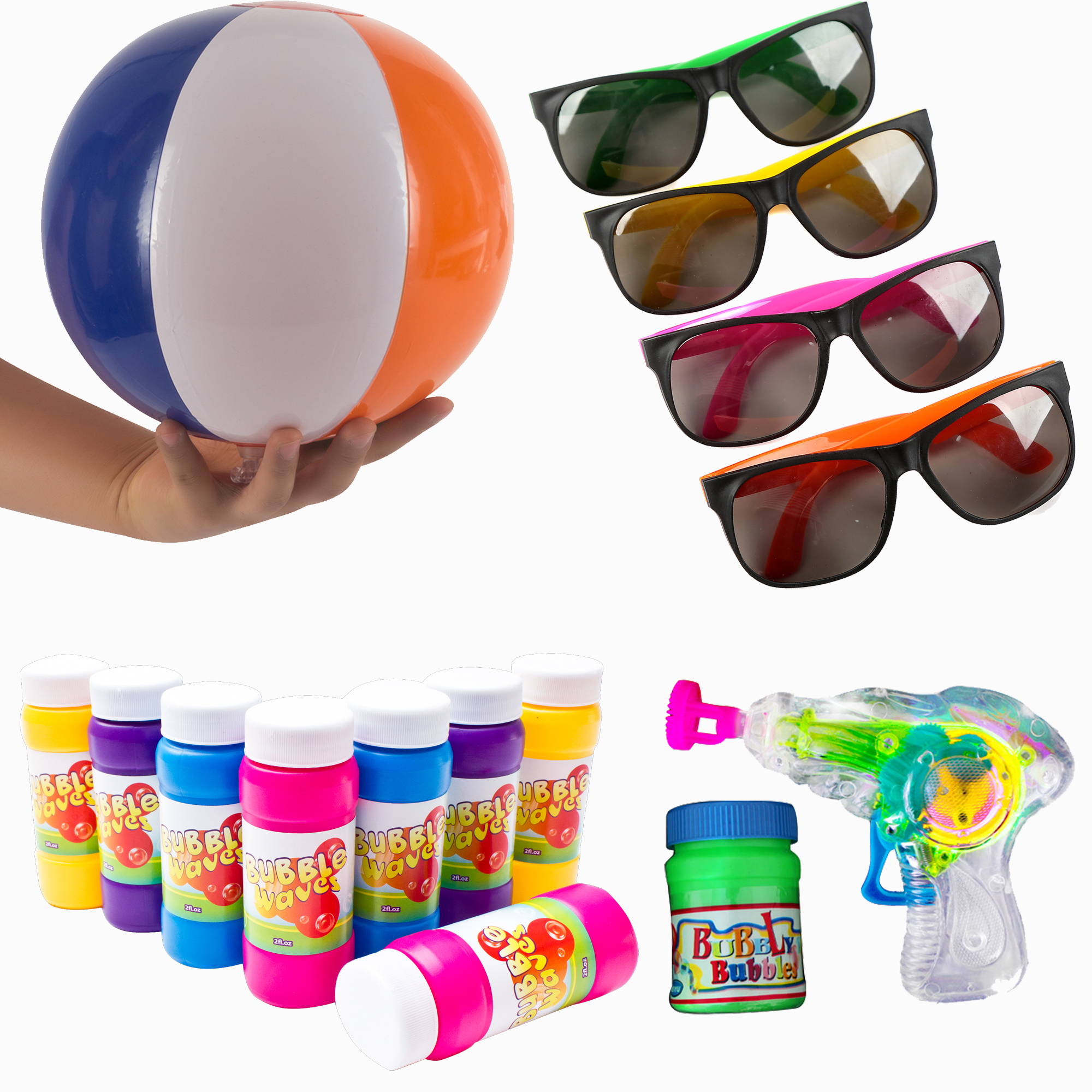 Beach toy party pack