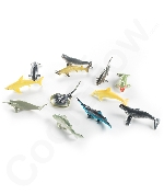 3 Inch Whale And Shark Toy Figure - Assorted