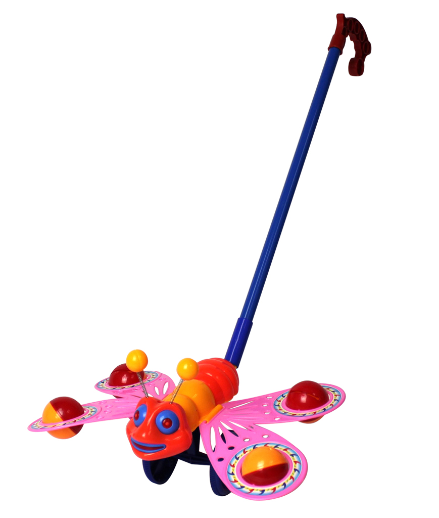 10.5 Inch Bee Push Toy
