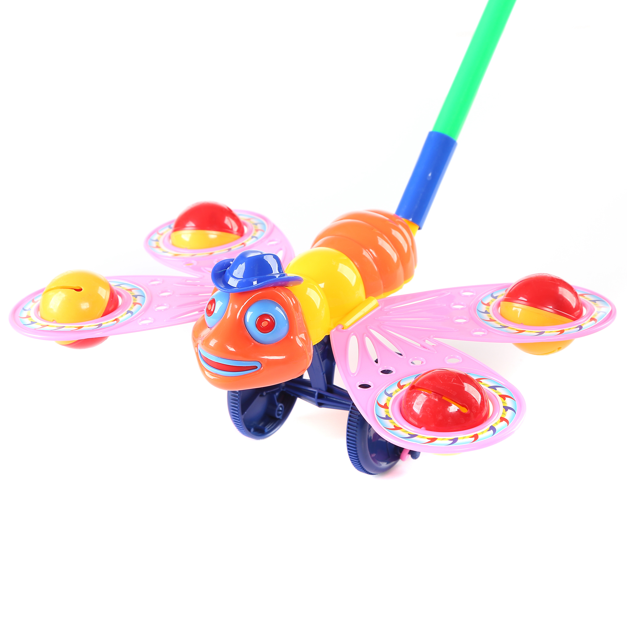 Fun Central BC761 10.5 Inch Bee Push Toy