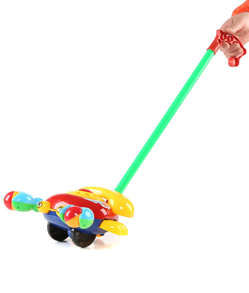 10.5 Inch Telephone Push Toy
