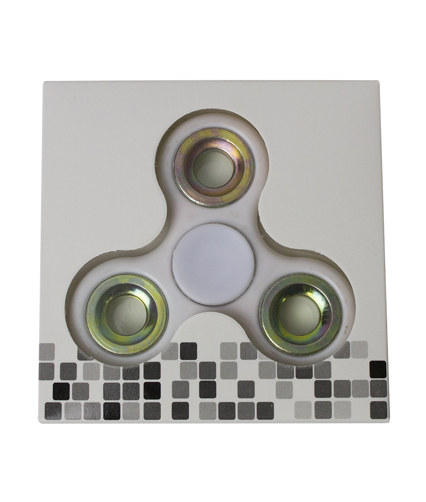 Regular Finger Spinner - White