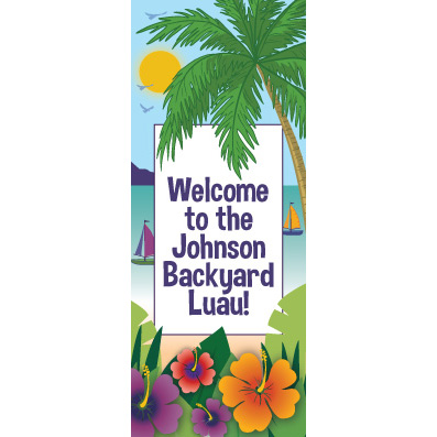 Ocean View - Custom Door Banner