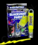 Glominex Blacklight UV Reactive Paint 1oz Tubes - Retail Ready 3 Pack