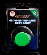 Glominex Glow Body Paint Single Pack - Green