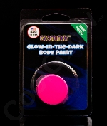 Glominex AY827 Glow in the Dark Body Paint Single Pack Clamshell - Pink