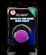 Glominex AY831 Glow in the Dark Body Paint Single Pack Clamshell - Purple