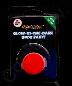 Glominex Glow Body Paint Single Pack Clamshell - Red