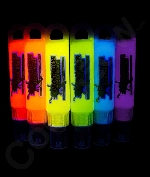 Glominex H60 Glow in the Dark Paint 1 oz Tubes - Assorted 6ct