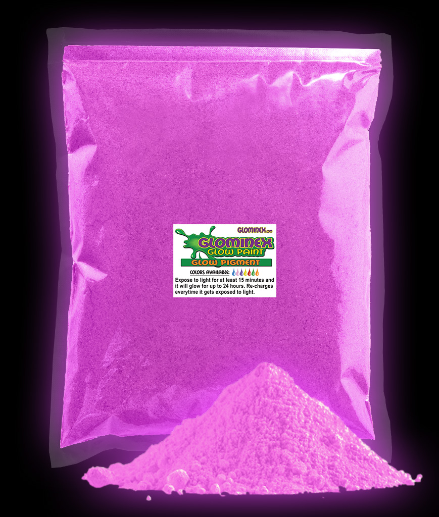 Glominex Ultraviolet Reactive Pigment 1 kg - Purple
