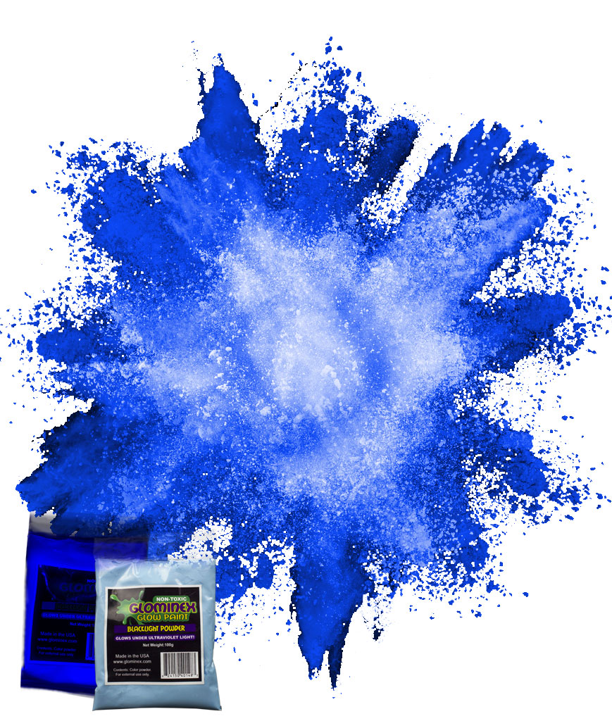 Blacklight Color Powder 70g - Blue