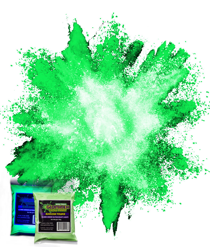 Blacklight Color Powder 70g - Green