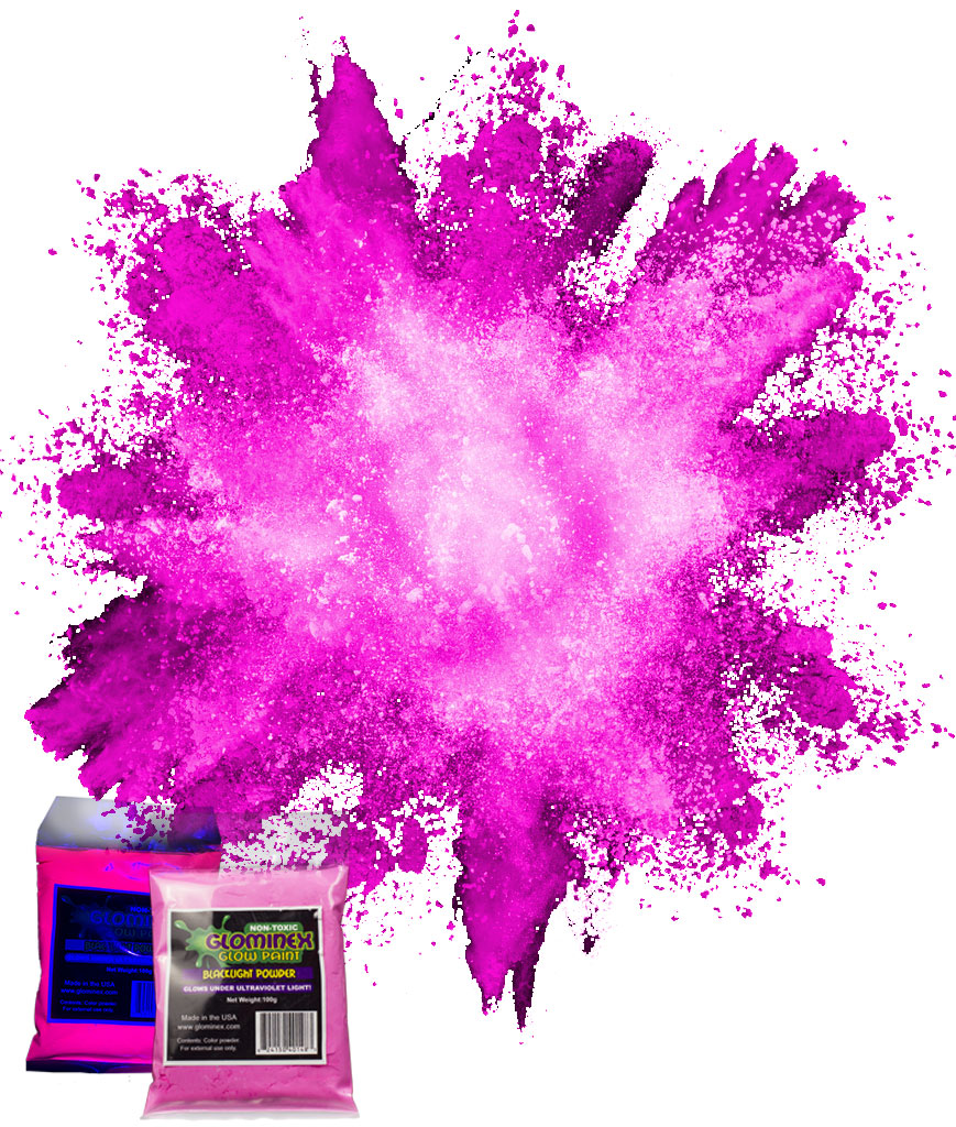 Blacklight Color Powder 70g - Pink