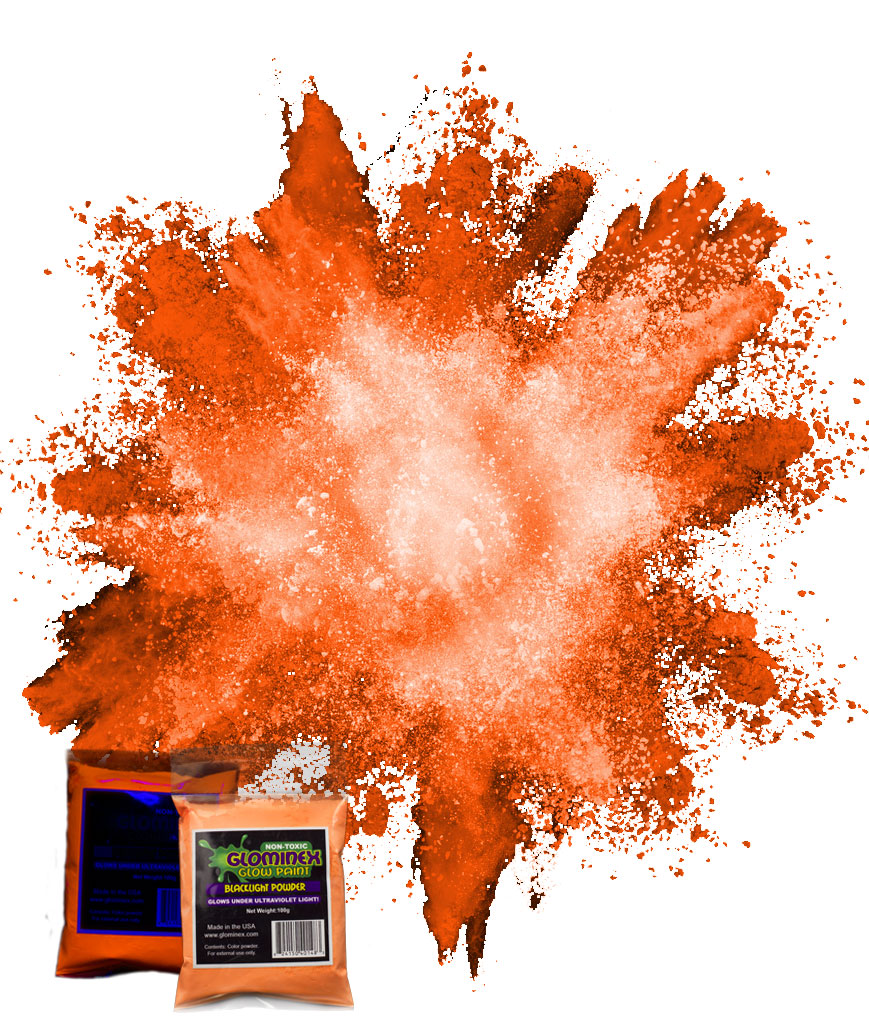 Blacklight Color Powder 70g - Orange