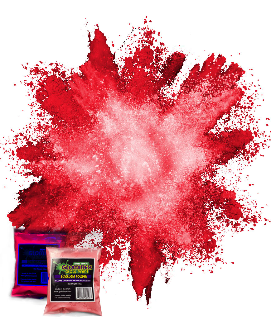 Blacklight Color Powder 70g - Red
