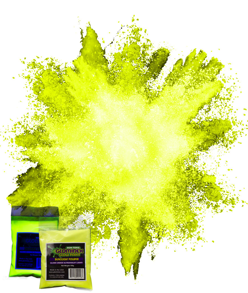 Blacklight Color Powder 70g - Yellow