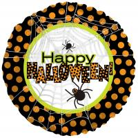 18 Inch Halloween Spiders & Dots