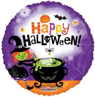 18in Halloween Witchs Brew Metallic Balloon