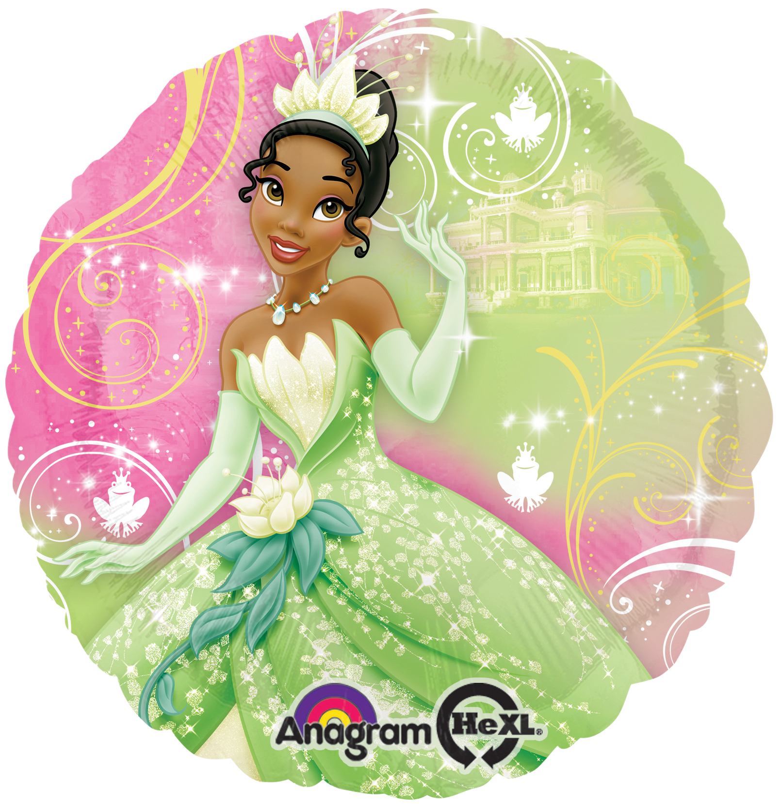 Princess and the Frog Balloon- 18 Inch