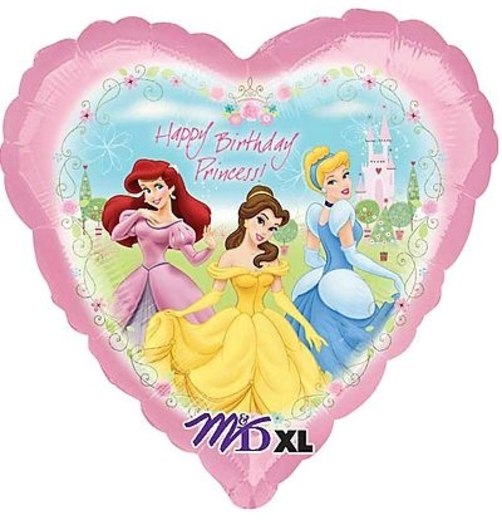 Princess Garden Birthday Balloon- 18 Inch