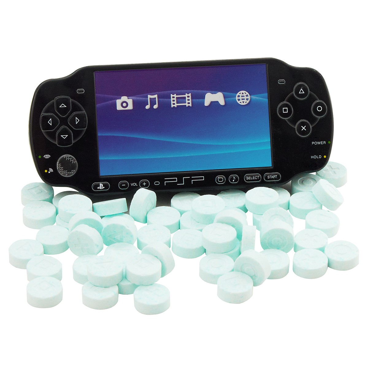 PlayStation Portable Sour Candy Tin Assortment
