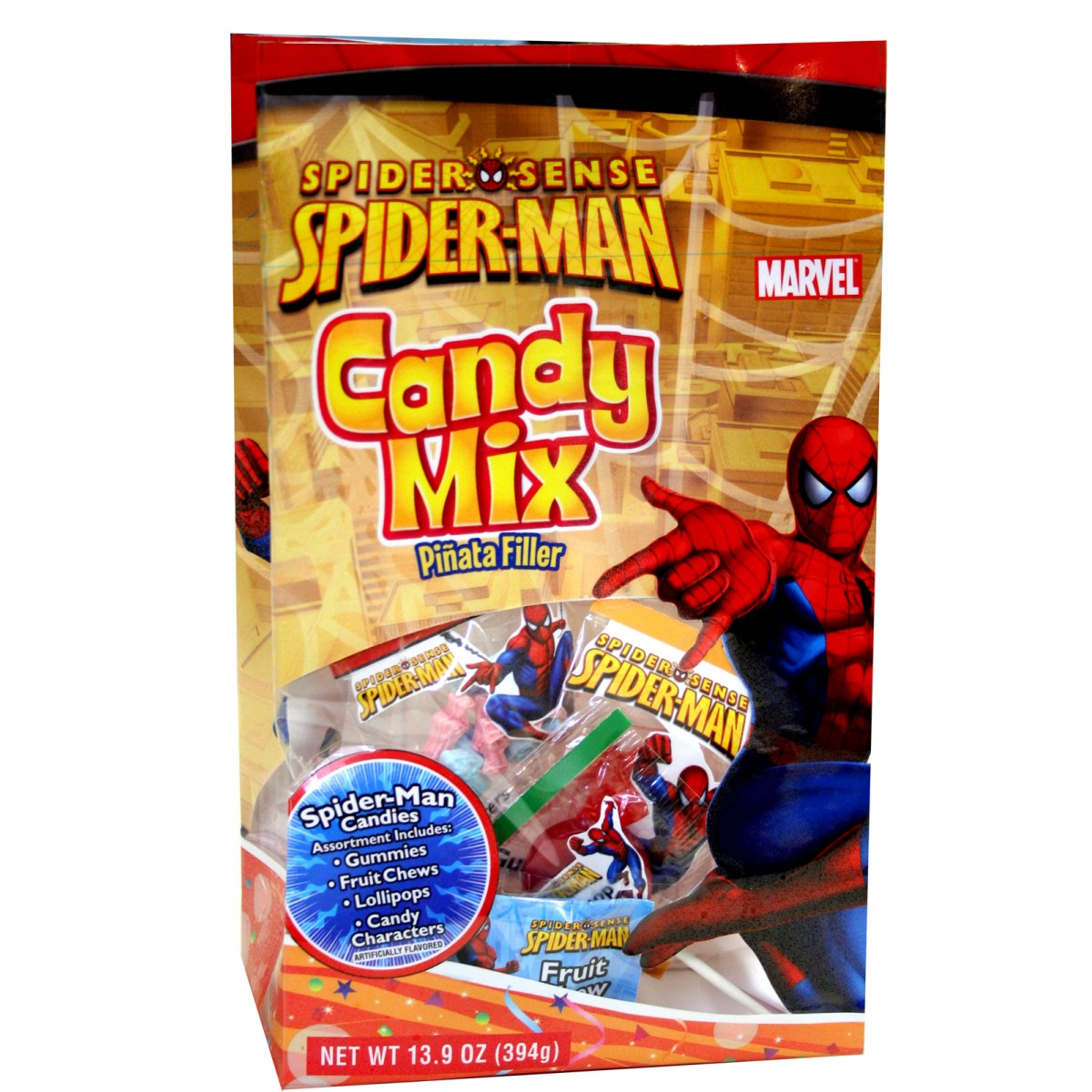 Spider-Man Pinata Filler Bagged Candy