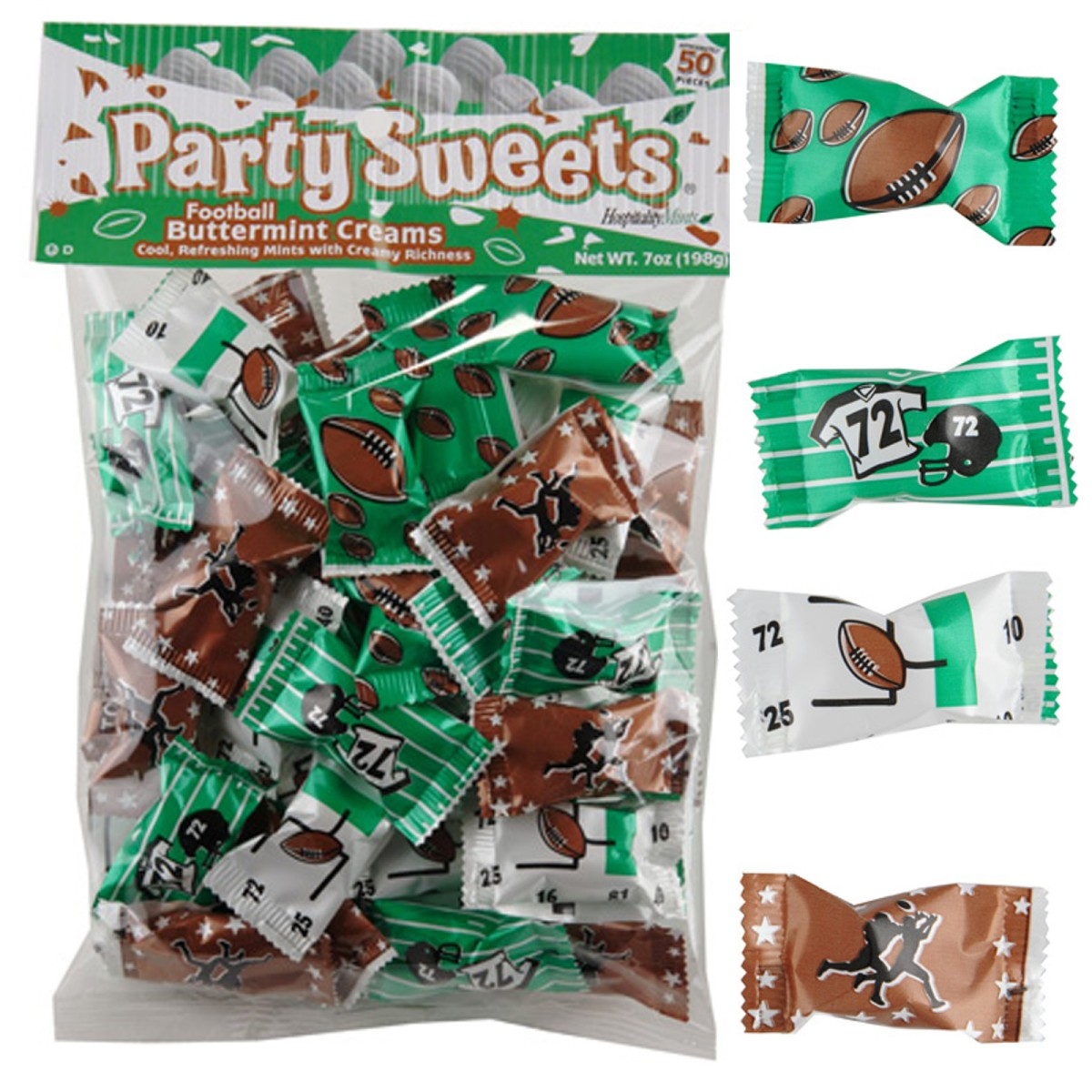Football Party Mints