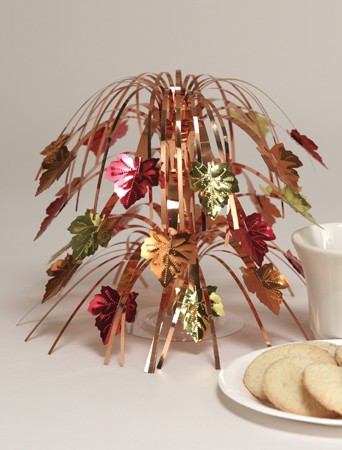 Leaves Mini Cascade Centerpiece