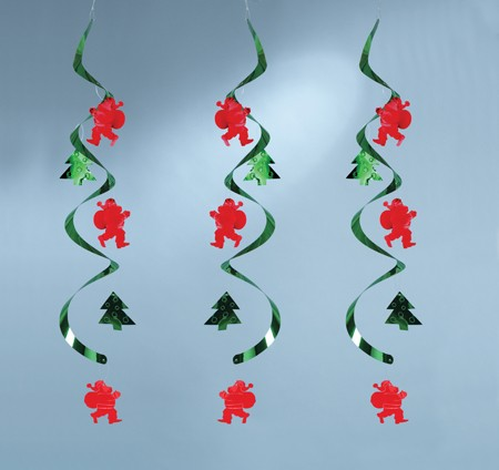 Santa & Tree Dizzy Danglers Multi-pack