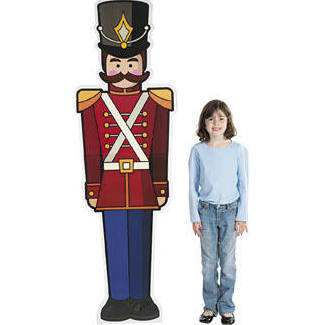 Cardboard Toy Soldier Stand-Up