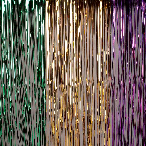 Hanging Curtain Mardi Gras