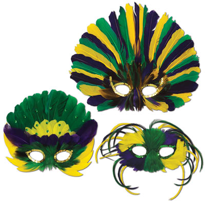Feathered Masks