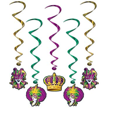 Mardi Gras Whirls 3ft 4in
