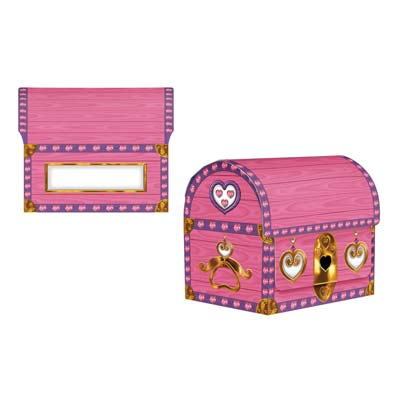 Princess Treasure Chest 6.5x8in