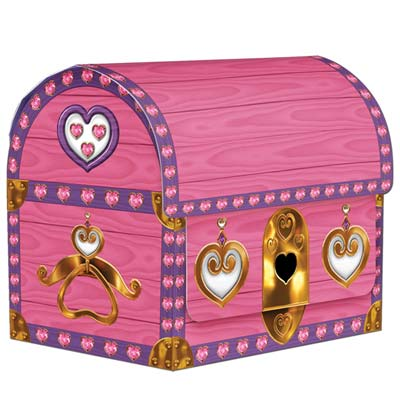 Princess Treasure Chests 3.5x4.25in