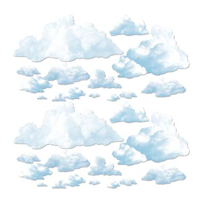 Fluffy Cloud Props 4-5'