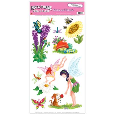 Fairies & Friends Peel 'N Place 12x24 Sheet