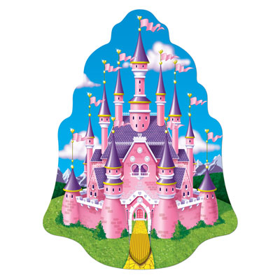 Princess Castle Wall Plaque 16.5in