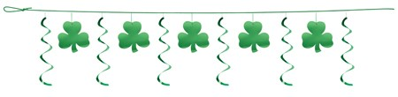 Clovers 12ft Dizzy Dangler Garland