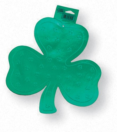 Shamrock Foil Embossed 6in Cutout