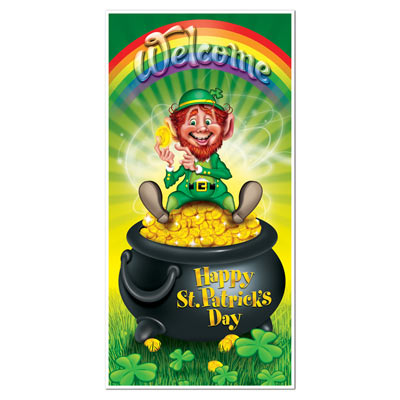 Leprechaun Door Cover 30in x 5ft