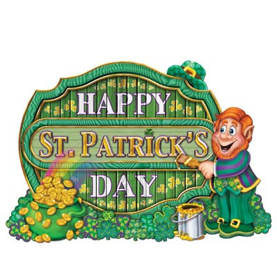 St Patrick Sign 11 x 16 in