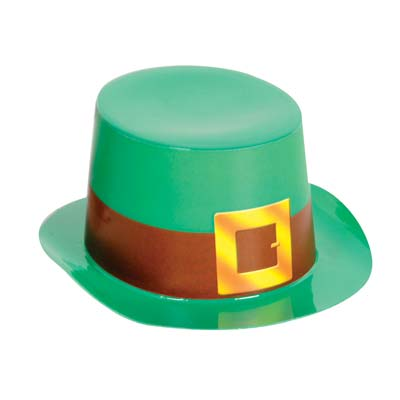 Mini Green Plastic Topper with Buckle 4.75 x 2in