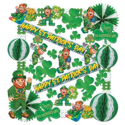 St Patrick Decorating Kit - 37 Ct