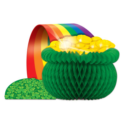 Pot-O-Gold Centerpiece 12.5in