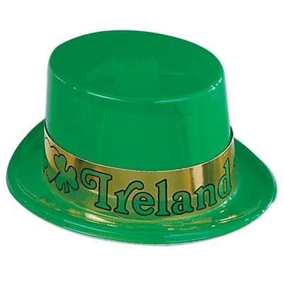 Plastic Irish Topper wBand
